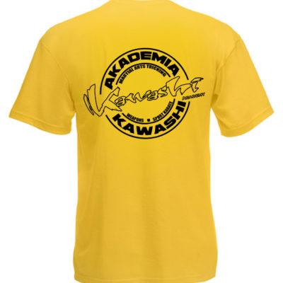 T-shirt Kawashi Academy (żółty)