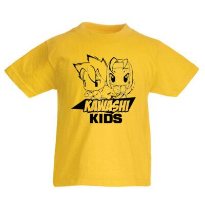 T-shirt Kawashi Academy Kids (żółty)